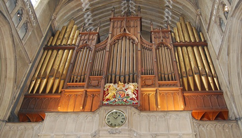 St Luke's Church Organ